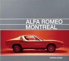 Alfa Romeo Montreal (Tipo 105.64 Gandini Motorsport) Buch book Bilder Photos
