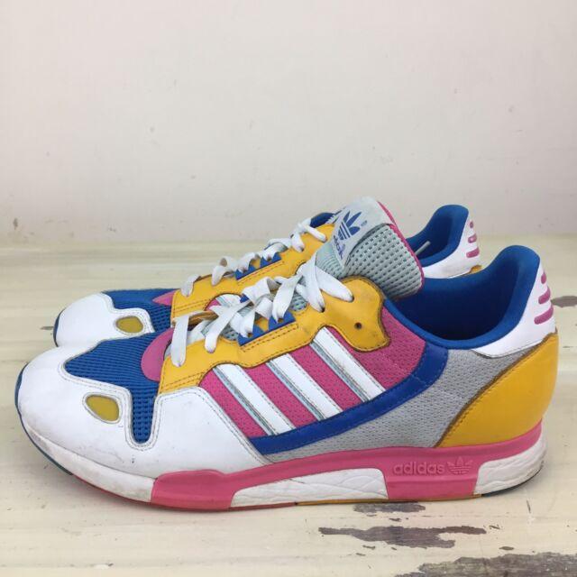 sports shoes d734c b858d ADIDAS ZX 800 - Pink, Orange, Blue, White Retro Originals Running Shoes,  Mens 10