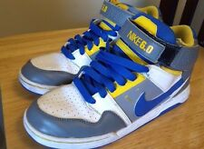 Nike 6.0 mid Morgan high top Skate Shoes Dunk  Size 5 1/2 5.5 youth Blue grey