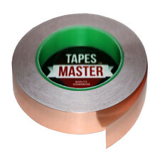"""Copper Foil Tape - 1/2"""" x 36 Yds (12mmx33m)- EMI Conductive Adhesive / Ship from"""