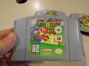 Details about Super Mario 64 N64 Nintendo 64 (Level Based Mario Bros Game)  AUTHENTIC & TESTED