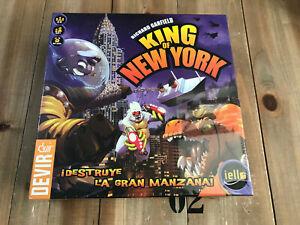 juego de mesa - KING OF NEW YORK - DEVIR Edición en Español - Richard Gardfield