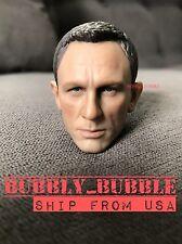 1/6 Daniel Craig Head Sculpt For James Bond 007 Sky Spectre SHIP FROM USA