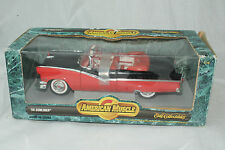 ERTL AMERICAN MUSCLE 1956 FORD SUNLINER, 1:18, BOXED