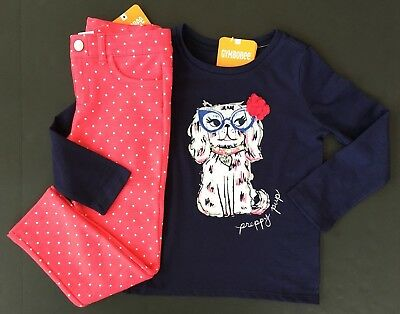 Gymboree Girls Tee /& Shorts Cool Kitty Outfit NWT 4 5 6