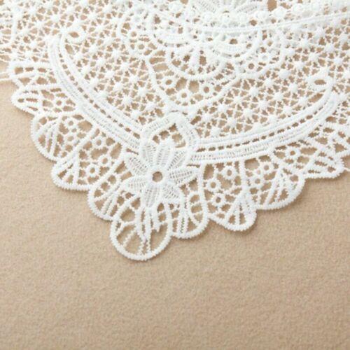 Lady Lace Cape Bolero Blouse Hollow Out Shrug Bridal Wedding Decor Shawl Fashion