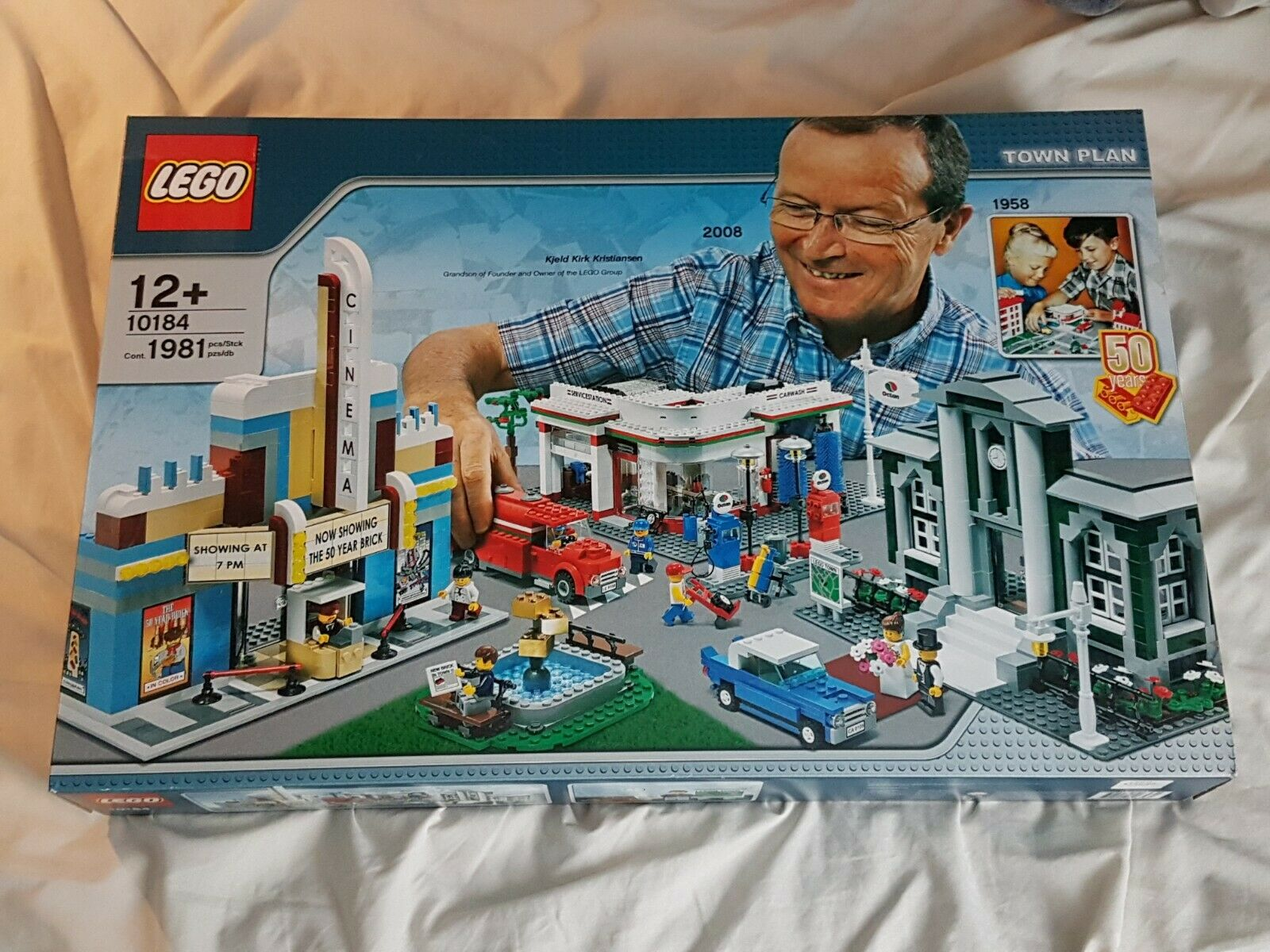 Lego Town Plan (10184) Brand New in Box