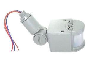 Plafoniera Da Esterno Con Sensore Crepuscolare : Rilevatore di movimento crepuscolare sensore luce per
