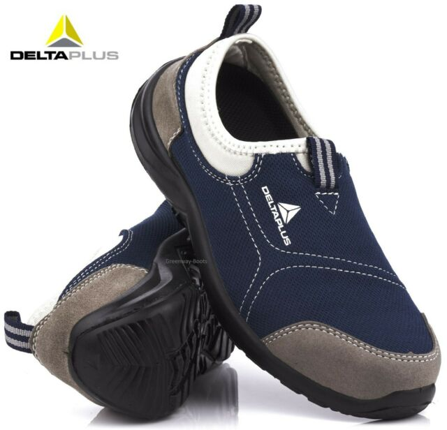57f51902e6f Mens Delta Lightweight Steel Toe Cap Safety Work Shoes Clogs Womens  Trainers Sz