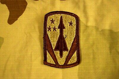 Authentic US Army 116th Armored Cavalry Desert DCU Tan Sew On Military Patch