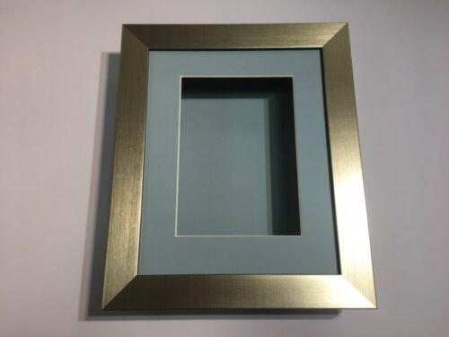 10 x 8 3D deep display//craft//casting frame gold-choisir parmi 6 mount couleurs