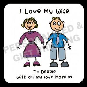 PERSONALISED-I-LOVE-MY-WIFE-HUSBAND-GIRLFRIEND-BOYFRIEND-COASTER-VALENTINES-GIFT