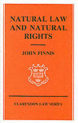 Natural Law and Natural Rights (Clarendon Law Series)-ExLibrary