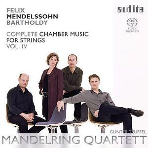 Mendelssohn - String Chamber Music Vol 4 [New SACD] Hybrid SACD