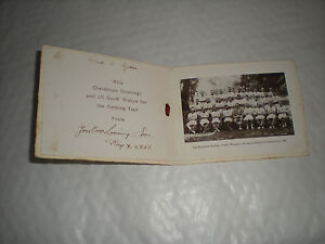 A 1929 Xmas card With A Photo of 2nd Battalion Athletic Team Winners In Lahore - radstock, Somerset, United Kingdom - A 1929 Xmas card With A Photo of 2nd Battalion Athletic Team Winners In Lahore - radstock, Somerset, United Kingdom