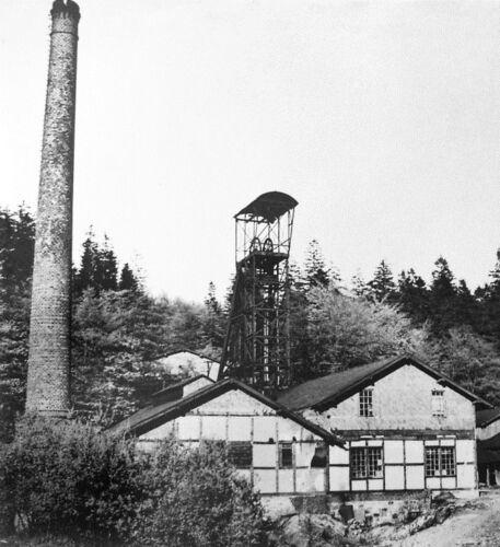 Blei und Silber Erz Bergwerk Victoria Kuxschein 1897 Siegerland Kreuztal Hanau