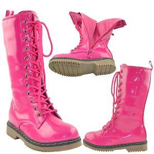 Girls Combat Boots | eBay