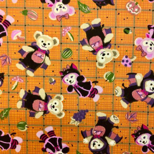 1//2m Teddy Bear Watermelon Bedding Cotton Apparel Quilting Fabric