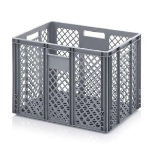 Plastikbehälter 60x40x42 durchbrochen*Kunststoffbehälter*Plastikkiste*Eurobox*