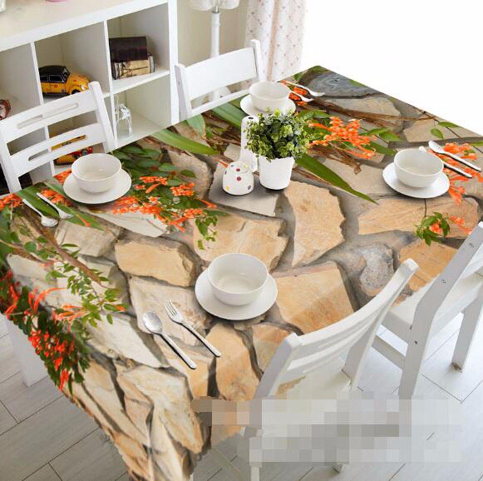 3D Wall Adorn Tablecloth Table Cover Cloth Birthday Party AJ WALLPAPER UK Lemon