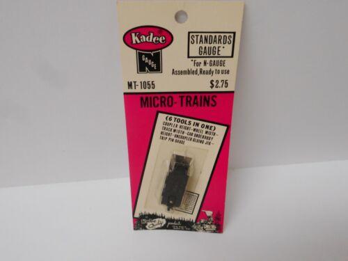 Kadee MT-1055 STANDARDS GAUGE for N Gauge Assembled N Scale