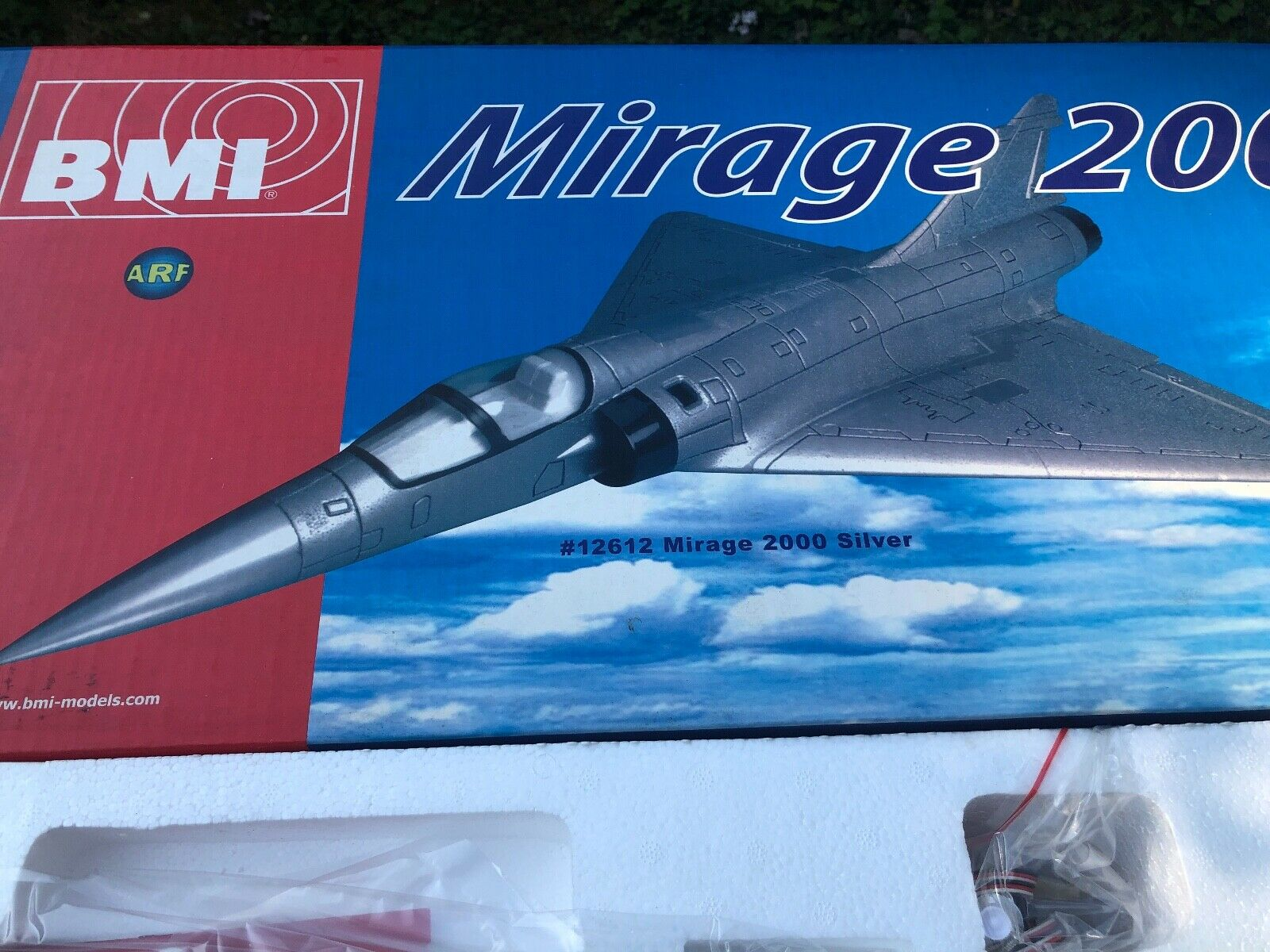 Mirage 2000 RC Impeller jet