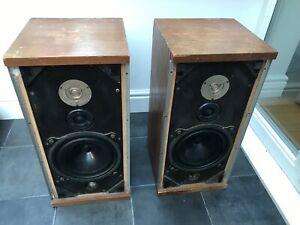 B-amp-w-dm4-Bowers-und-Wilkins-Boden-stehend-Lautsprecher-WDR-England-Made-a1