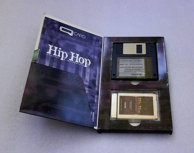 ALESIS QCARD Hip Hop Original packed PCMCIA promo c