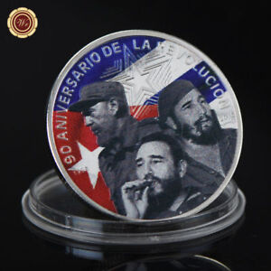 WR-Fidel-Castro-Colored-999-Silver-Commemorative-Coin-Collector-Holiday-Gifts