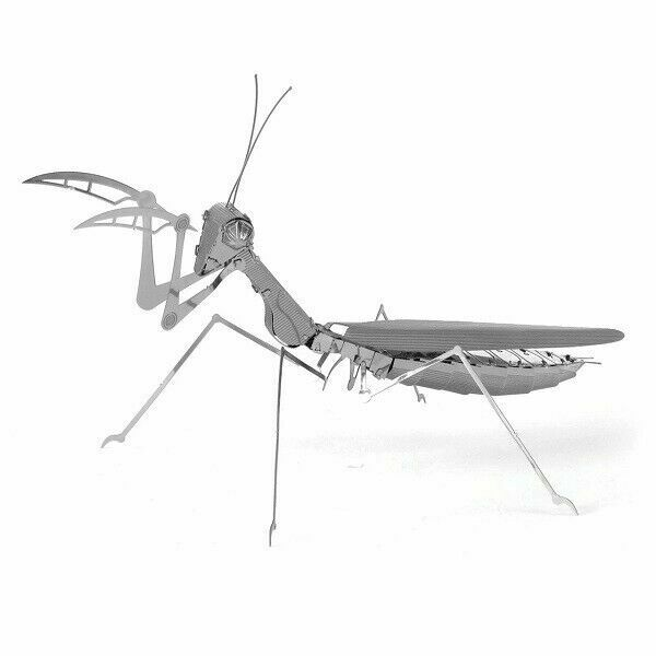 Fascinations Metal Earth 3D Laser Cut Steel Model Kit Insect Praying Mantis