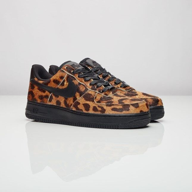 Nike Wmns Air Force 1 07 07 07 Lx  Animal Print Leopard  898889-001 Size US 6 NEW cb2963