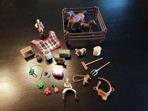 Schleich Adventskalender 97020 Pferde Weihnacht 2014 Araber Sonderedition Top !