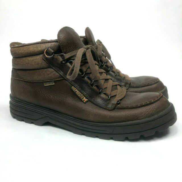 26616ca06fa Mephisto Sierra Trampoline Men's Size US 9.5 Gore Tex Brown Leather Ankle  Boots