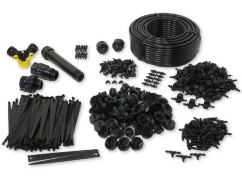 Patios /& Decks 60 Containers Drip Irrigation Kit for Container Gardening