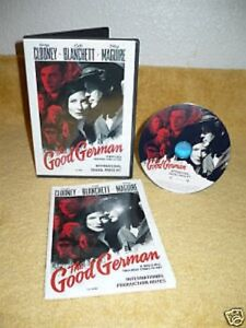 The Good German CD ROM digital press kit & production n