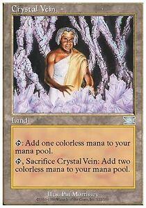 The-mood-for-Crystal-Crystal-Vein-MTG-MAGIC-6E-Eng-Ita