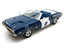1/18  Greenlight 1971Dodge Challenger Hemi Convertible Ontario Speedway Pace Car