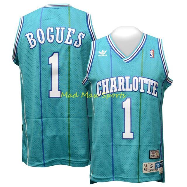 94cea272801 ... get tyrone muggsy bogues charlotte hornets hardwood classic swingman  jersey sz s xxl d13b3 1a497