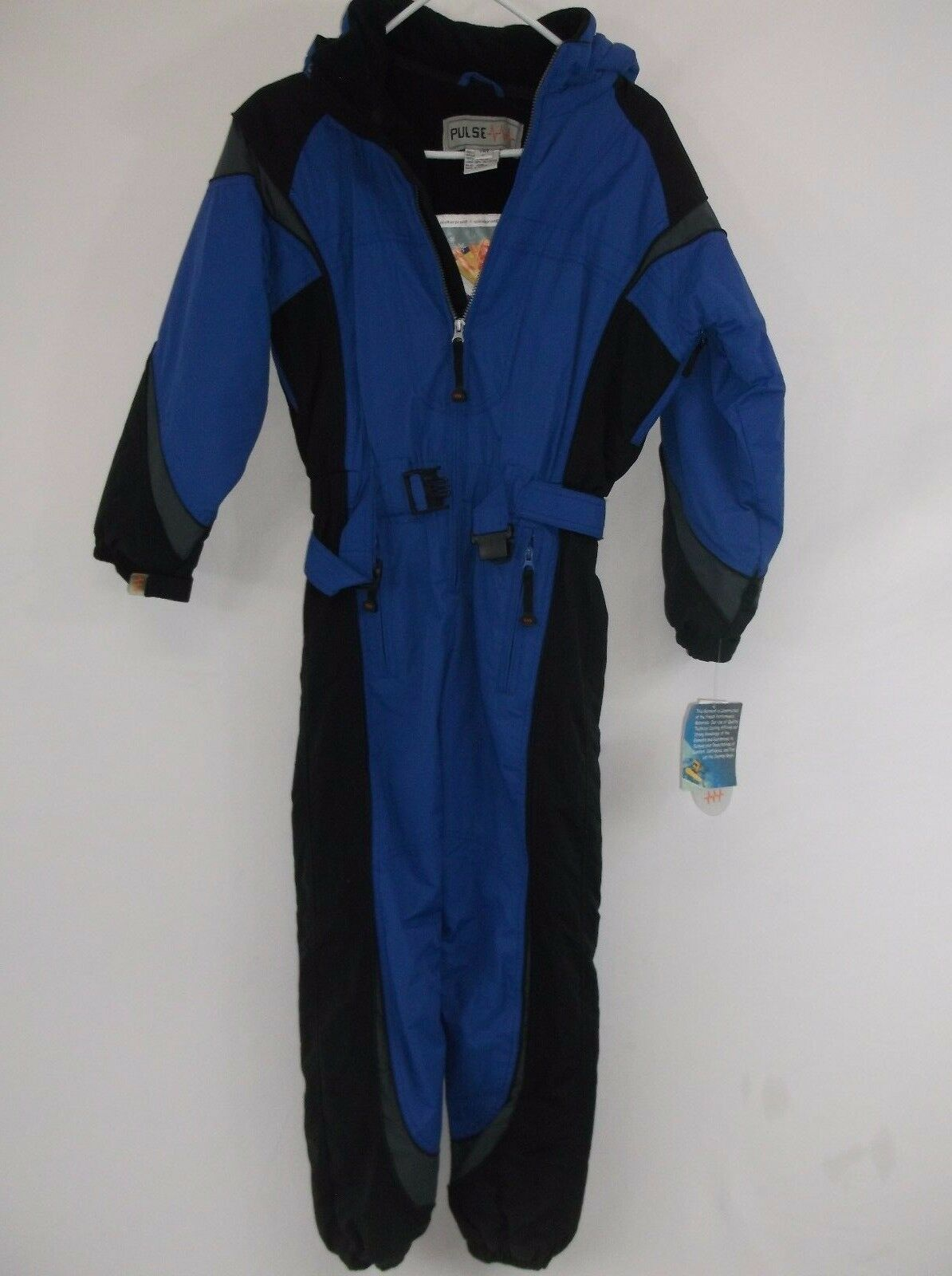 PULSE Insulated Snow Suit for Teens, Größe Youth Large One Piece Suit. WINDPROOF