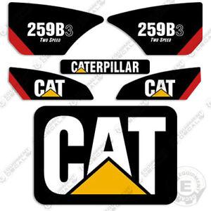 Caterpillar 259B-3 Kit de Pegatinas Equipamiento Calcamonías