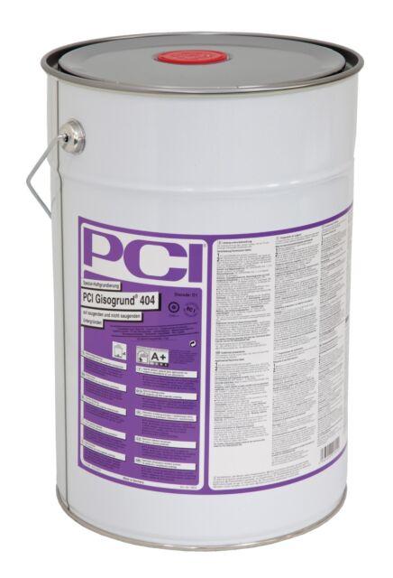 PCI Giso Base 404 20 L Amorce pour Sucer & Pas Sucer Substrats