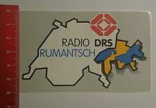 Aufkleber/Sticker: Radio Drs Rumantisch (230816134)