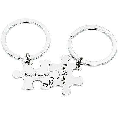 Trixes Suo Always Lei Forever Puzzle Metallo Keyring-Mothers Giorno