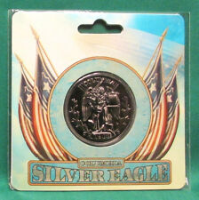 """BioShock Infinite Columbia Silver Eagle Collectible Coin (1.5"""" Wide) *Official*"""