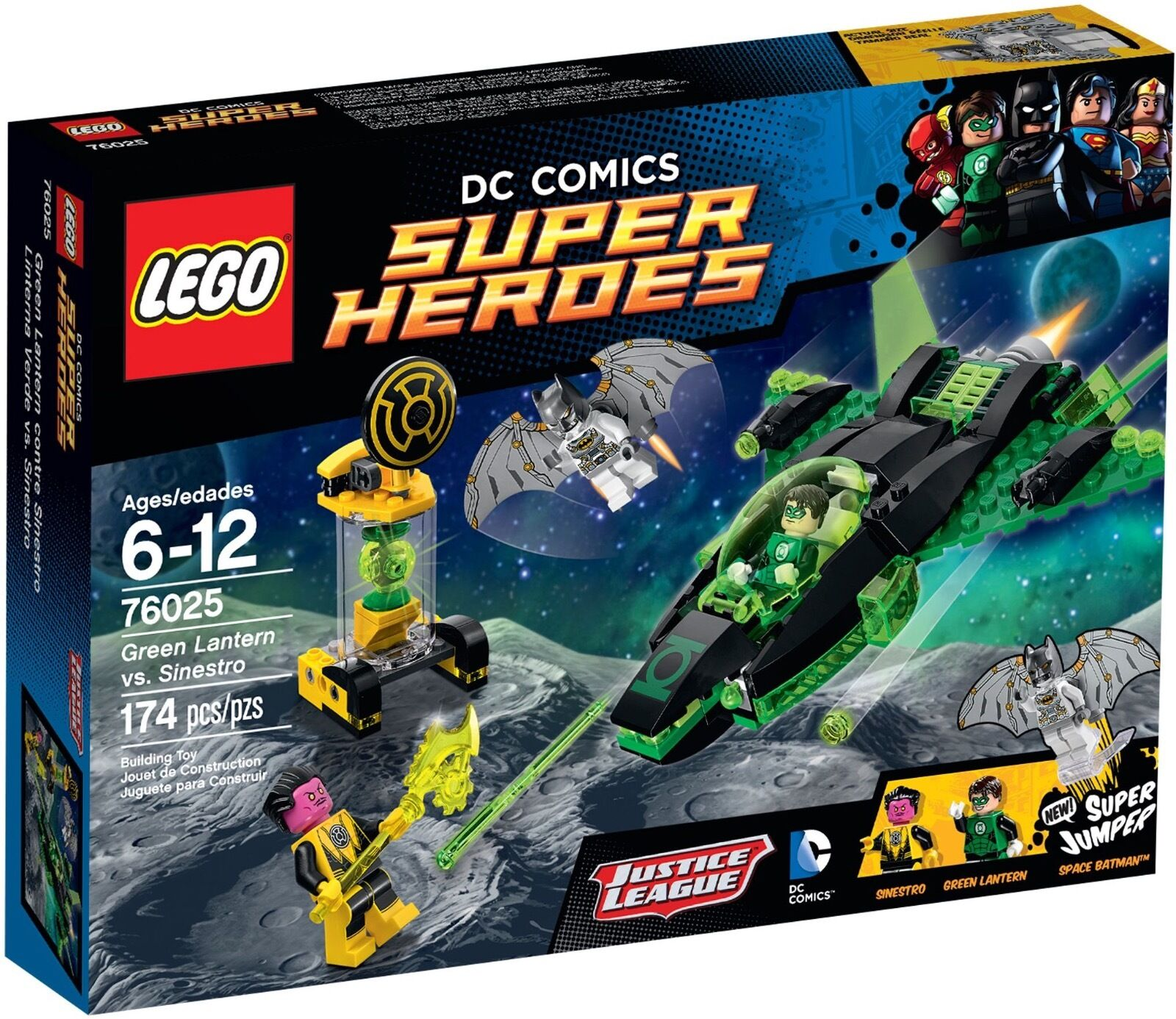 LEGO DC Comics Super Heroes 76025 - Green Lantern Vs Sinestro RETIRED SET- NEW