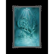 Disney Parks Ariel Little Mermaid Deluxe Print by Noah New and Sealed
