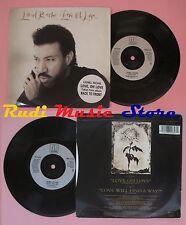 LP 45 7'' LIONEL RICHIE Love oh Love will find a way 1992 france (*)no cd mc dvd