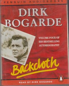 Dirk-Bogarde-Backcloth-2-Cassette-Audio-Book-Volume-4-Autobiography-Abridged