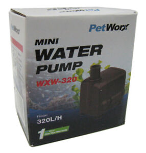 Pumps (water) Pet Worx Mini Water Pump 320 L/h Pet Supplies