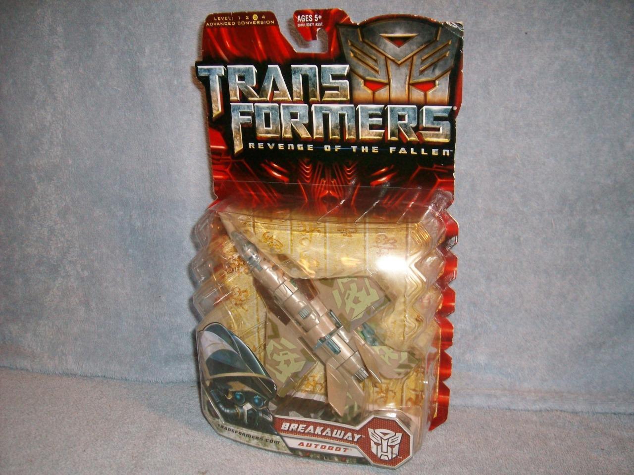 Breakaway Jet Transformers Revenge Revenge Revenge of the Fallen Level 3 Hasbro 2008 New Sealed 336220